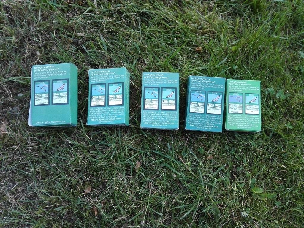 fuglekort prototyper