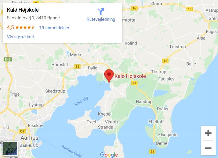 Kalø Højskole Maps